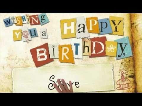 11 Best Happy Birthday You Tube Images On Pinterest Birthdays