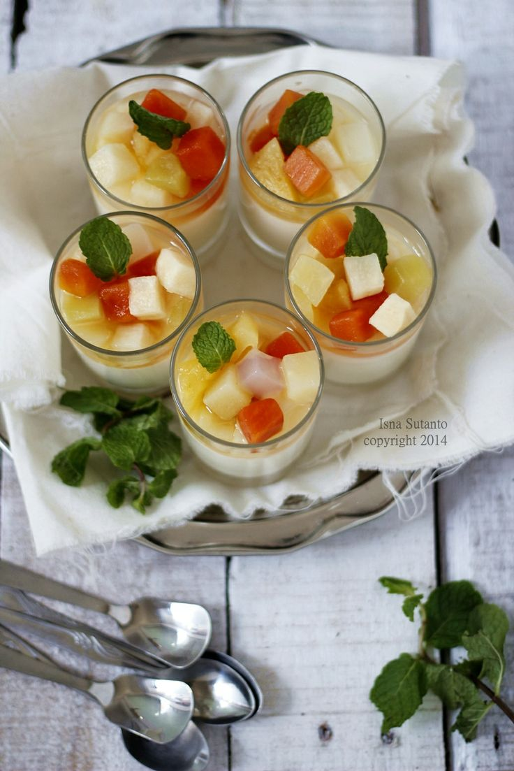 fruits pudding