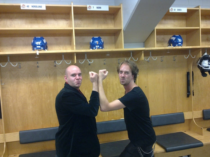 The Beckmesser and the GM showing some power in the locker room.