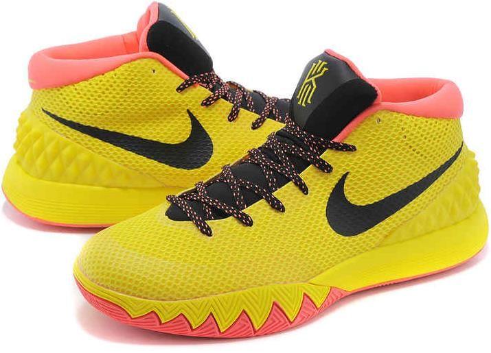 kyrie irving 1 pe yellow black orangenike kyrie 1 shoes - 800×533