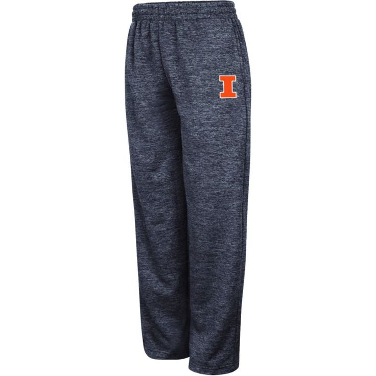 Colosseum Youth Illinois Fighting Illini Blue Hiplock Pants, Size: Medium, Team