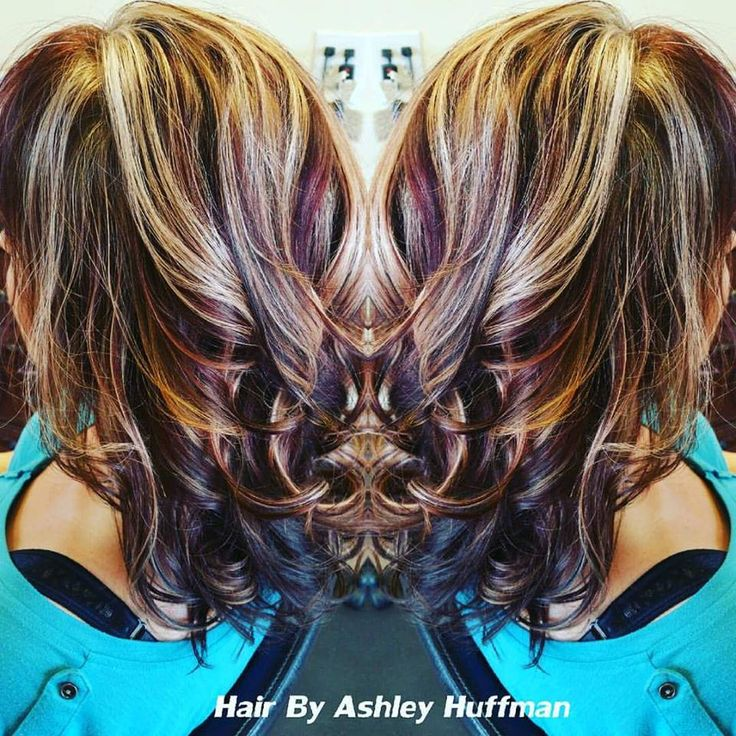 Best 25 black cherry highlights ideas on pinterest dark cherry fun hair color bangs heavy blonde highlights black cherry red lowlights pmusecretfo Choice Image