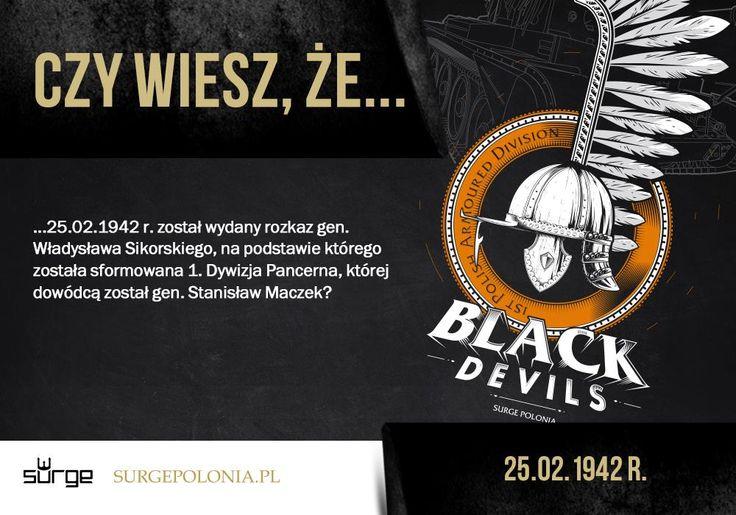 Czarne Diabły. Black Devil's Przepnij Pina! Pomóż nam promować ideę nowoczesnego patriotyzmu. Surge Polonia