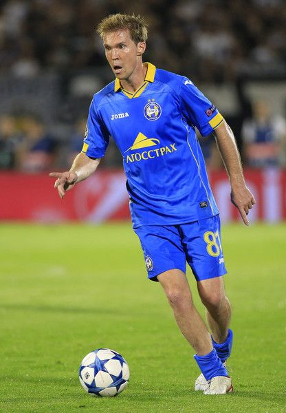 Alexander Hleb of Bate Borisov and Belarus