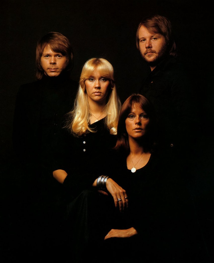 """Simply put, from the early 1970′s until the early 1980′s, ABBA was the biggest selling musical group in the world.  The Swedish supergroup was first formed in Stockholm in 1970.  Their signature hit was 1976′s """"Dancing Queen"""", their only hit to reach #1 on the Billboard Charts here in the US."""