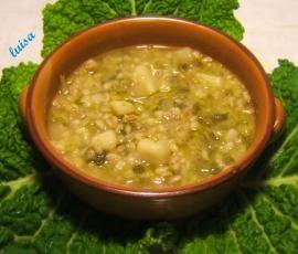 Ricetta Minestra di verza e patate (o zucca) bimby