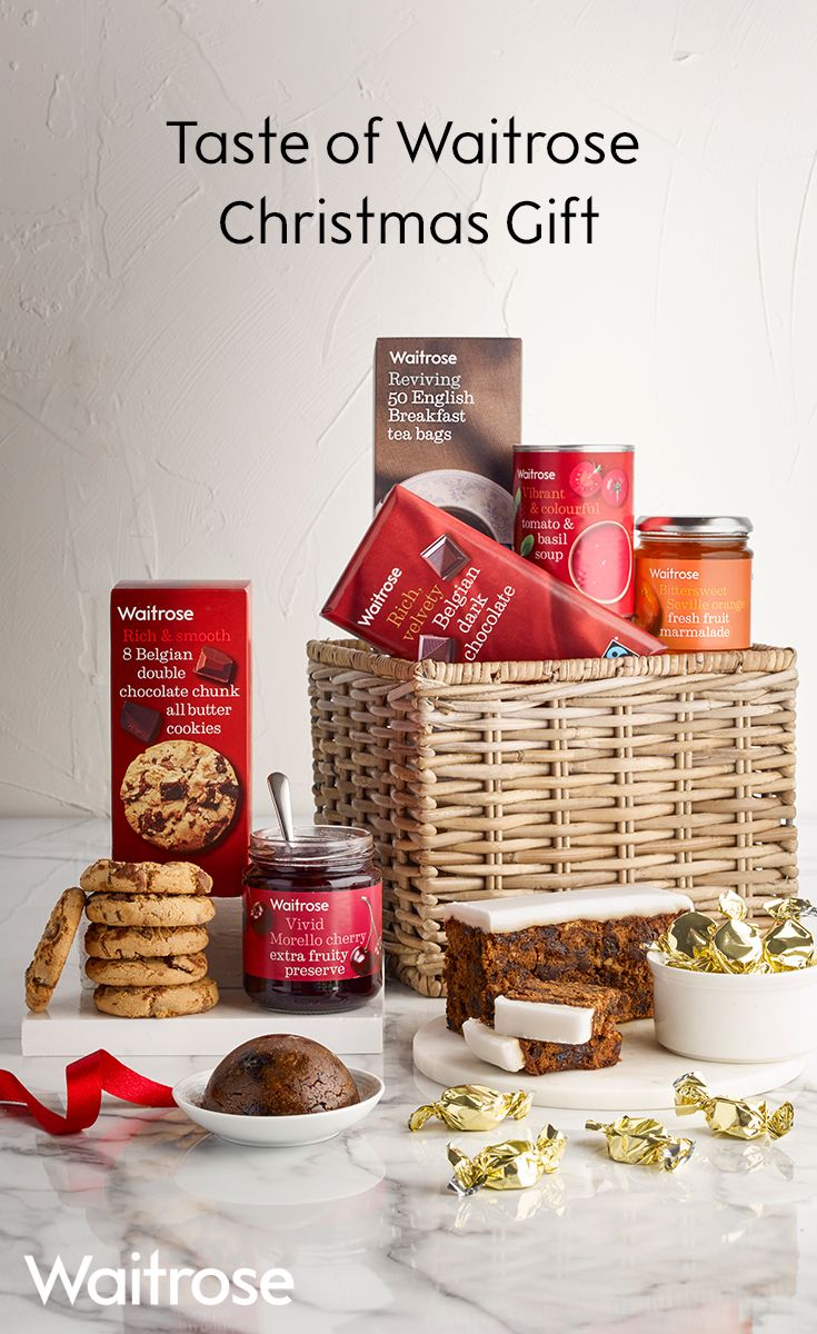 23 best christmas hampers 2017 waitrose images on pinterest sit down and relax with this delightful hamper filled with all the treats you could solutioingenieria Gallery