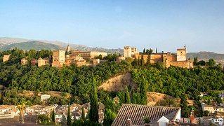 Granada, España, Edificios, La Alhambra
