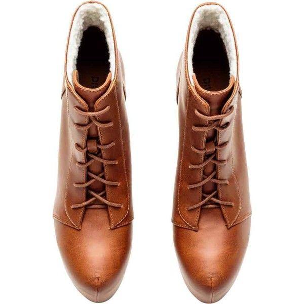Kotníkové boty na platformě ❤ liked on Polyvore featuring shoes