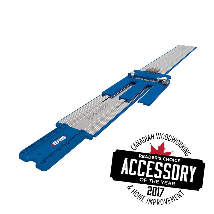 Kreg Tool Accu-cut circular saw guide – Janet Woodworking