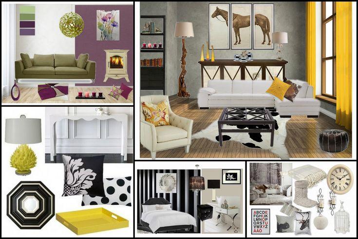 Emerald Interior Design Sample Mood Boards