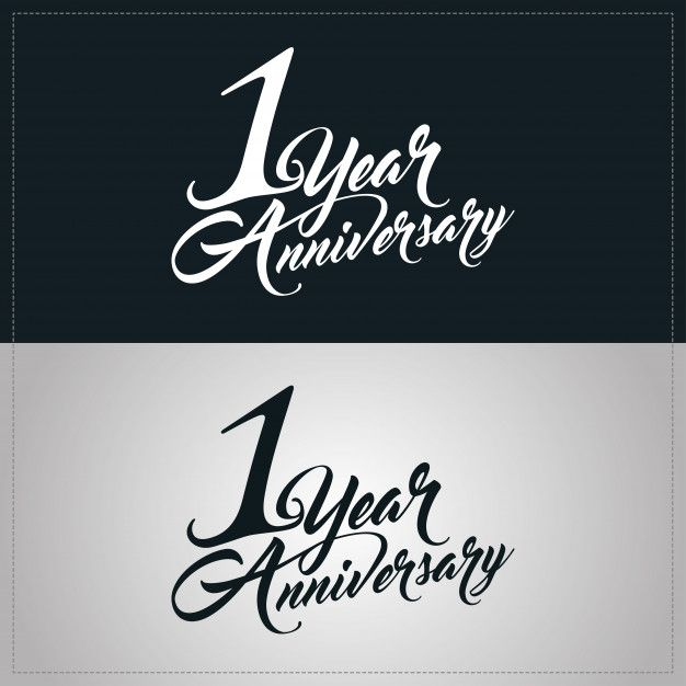 one year anniversary celebration logotype 1st anniversary logo one year anniversary anniversary logo year anniversary one year anniversary celebration