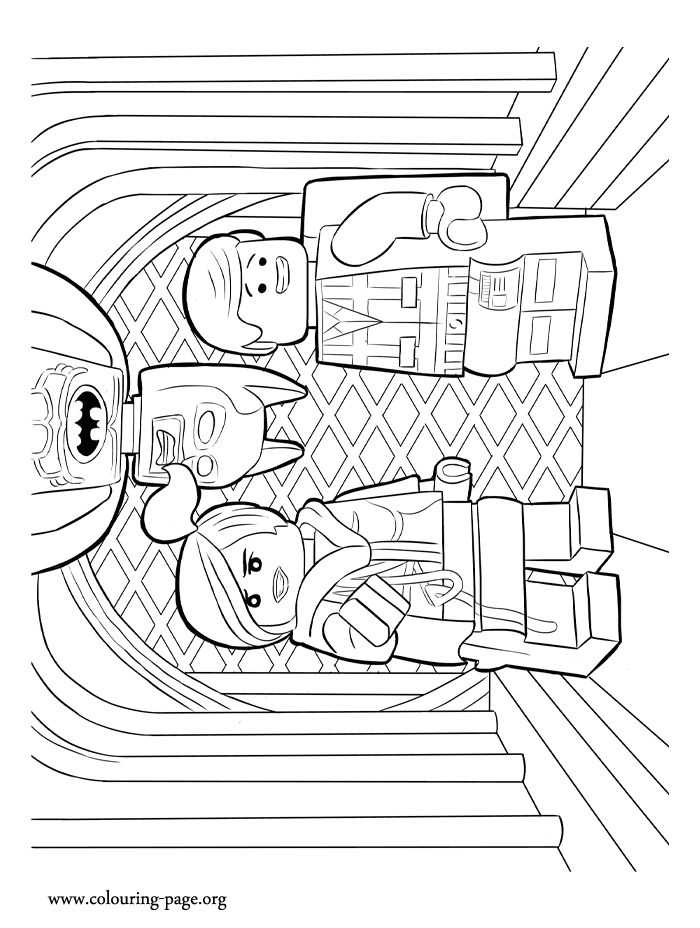 11 Best LEGO Movie Coloring Pages Images On Pinterest