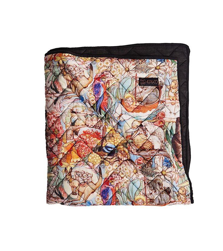 May GIbbs/Kip&Co Bush Friends Quilt Cover