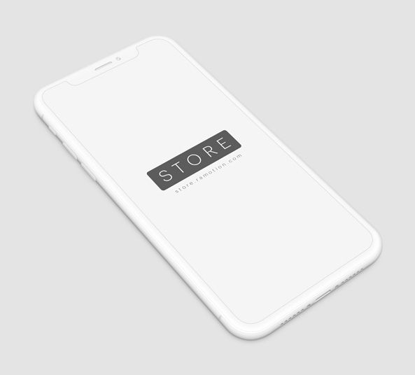 Download Iphone X White Clay Mockup For Psd Iphone Mockup Iphone Mockup Psd Iphone Mockup Free