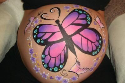 Belly Painting: Montreal, Quebec, Canada  I have been face-painting since 2004 and continue to participate in numerous face-painting classes to improve my skills. I provide