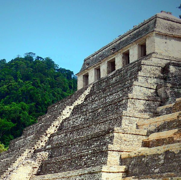 #Palenque Mayan Ruin, archaeological site, Palenque, Chiapas, Mexico, For more info click on photo.  www.rachel-munoz-striggow.artistwebsites.com