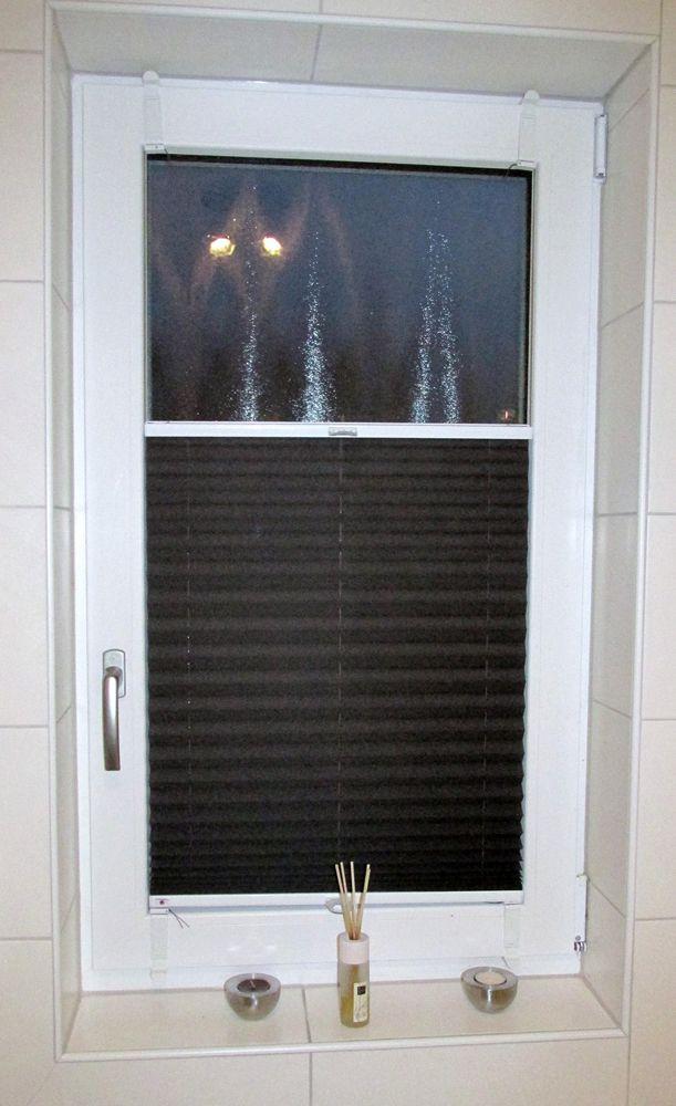 Sensuna® Badezimmer Sichtschutz Plissee Am Fenster / Sensuna® Pleated Blind  An A Bathroom Window