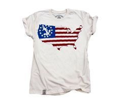American Eagle Flag T-shirt - Premium Cotton Unisex or Ladies T ...