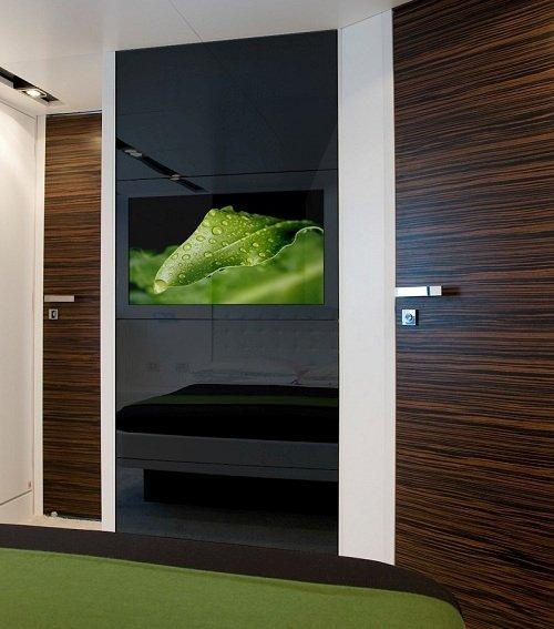 integrating television seamlessly into the world's most beautiful interiors!