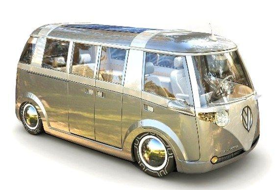 Volkswagen Combi 2009 Diseño del canadiense Alexandre Verdier