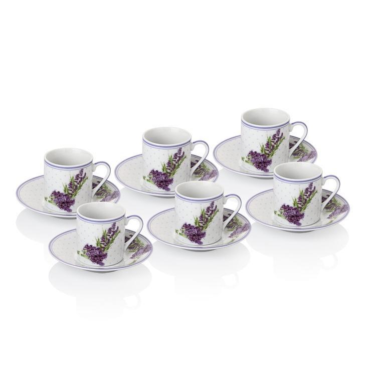 Lavender Kahve Fincanı Seti / Coffee Cup Set #bernardo #kitchen #mutfak #tabledesign
