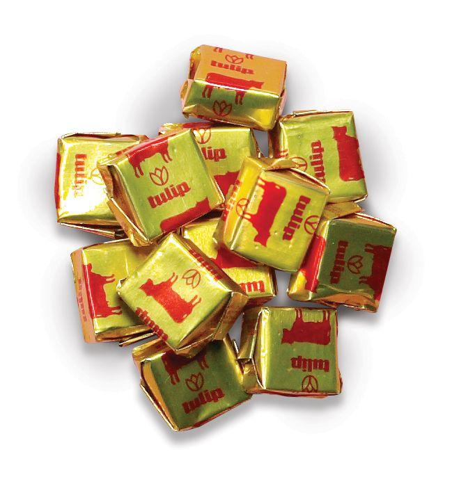"I loved these sweets!! Καραμέλες Γάλακτος τυλιγμένες στο ""χρυσό χαρτί"""