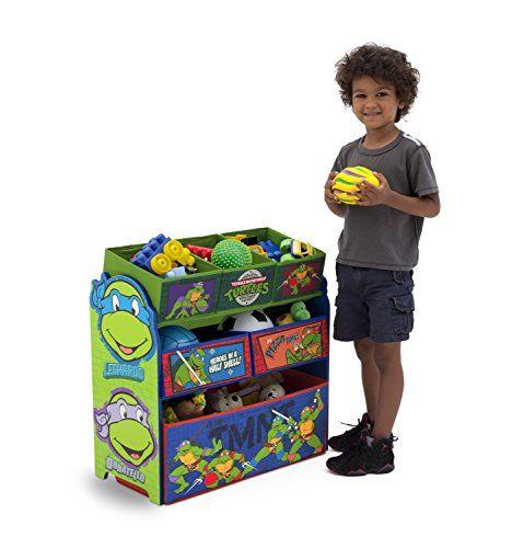 Delta Children Multi Bin Toy Organizer, Nickelodeon Ninja Turtles  http://www.furnituressale.com/delta-children-multi-bin-toy-organizer-nickelodeon-ninja-turtles/