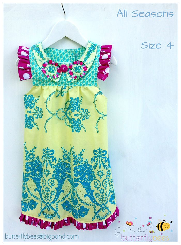 HOLIDAY SALE  - ALL STORE ITEMS ON SALE NOW.  Dress - All Seasons Size 4 | Butterflybees | madeit.com.au