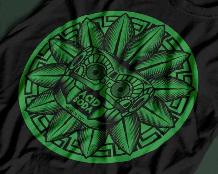 """Diseño Inspirado en el dios Quetzalcoatl, uno de los principales dioses de la cultura mesoamericana. Quetzalcóatl, considerado como """"La Serpiente Emplumada"""", representa la dualidad inherente a la condición humana: la """"serpiente"""" es cuerpo físico con sus l…"""