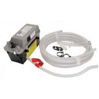 Dcs Drain Pump For Ice Maker Rf15i by DCS. $399.00. DCS Drain Pump For Ice Maker RF15I. RFIDP. DCS Misc. Accessories. The DCS Drain Pump is an optional accessory for the DCS Outdoor Ice Maker (RF15I). Drain pumps remove excess water from melting ice. For use where a floor drain is not readily accessible to pump drain water to the nearest drain. Rated at 8 feet for vertical lift and 20 feet for horizontal run.