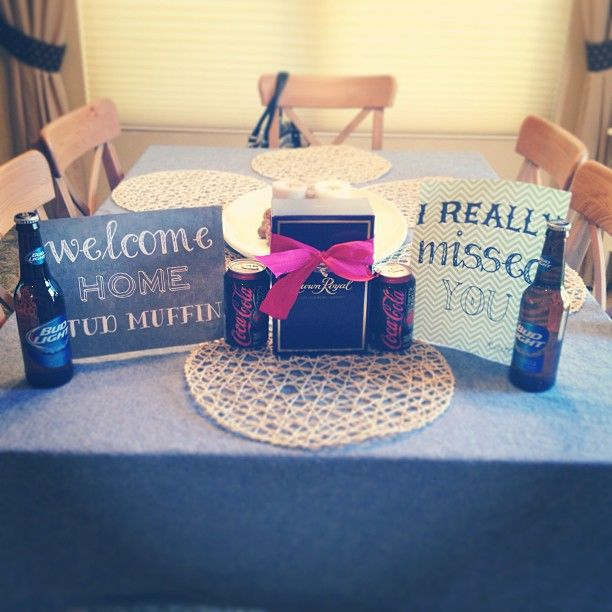 Welcome Home Decorating Ideas For Deployment