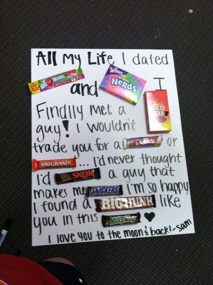 Cute Gift Ideas For Boyfriend Boyfriend Gifts Birthday Gifts