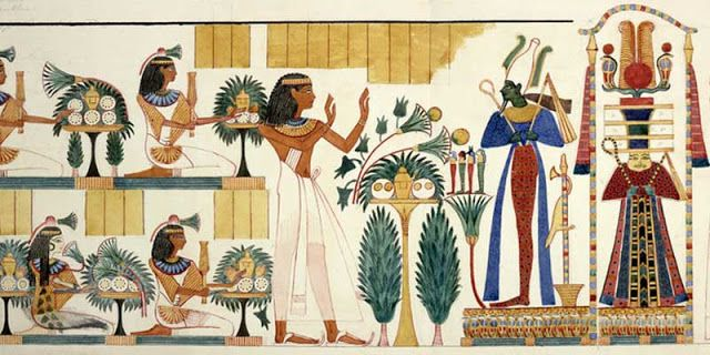 Egyptian wall paintings | Egyptian party, Egyptian, Ancient egyptian tombs