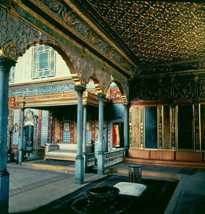 Imperial Hall in the Harem -Topkapi Palace Istanbul