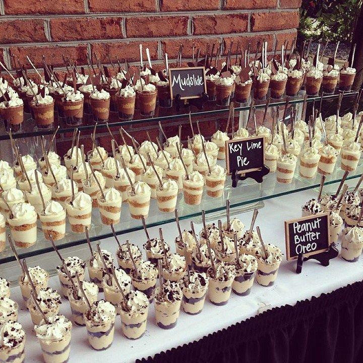 34 Unique Wedding Food Dessert Table Display Ideas