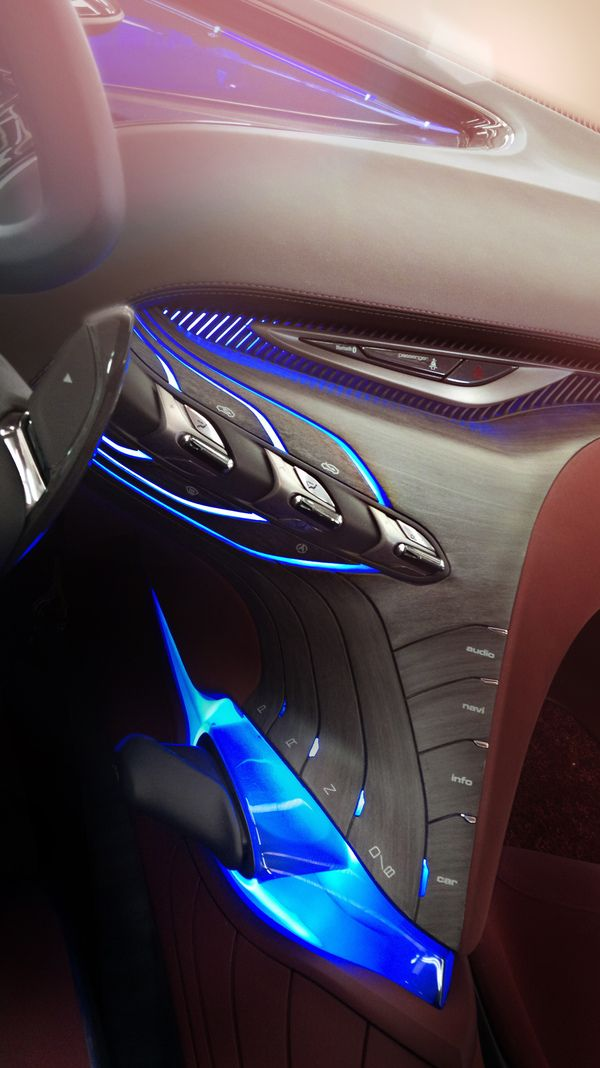 Hyundai HED-8 i-oniq Show-Car Interior / Geneva 2012 by Eric-Yann Coulouvrat, via Behance
