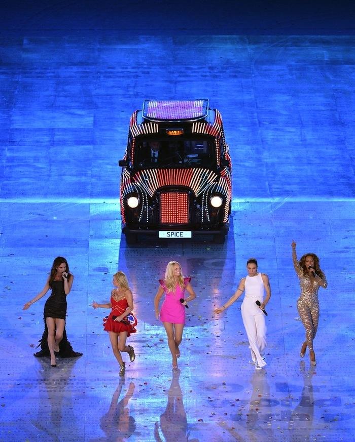Spice Girls - Olympics 2012 | www.glamourparaguaio.com.br