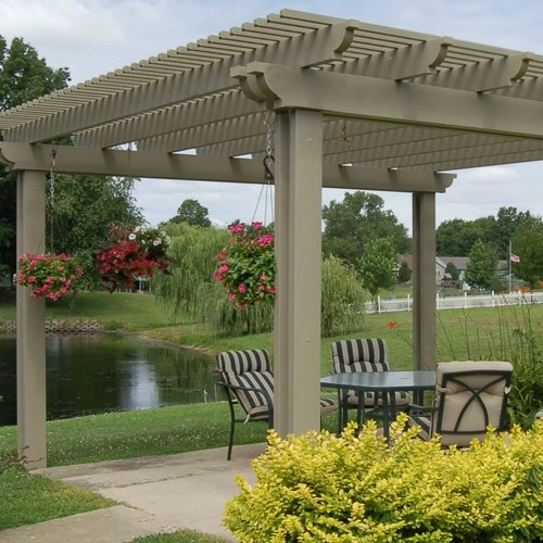 Pergolas and Arbors - traditional - gazebos - other metro - by Americana Building Products Inc