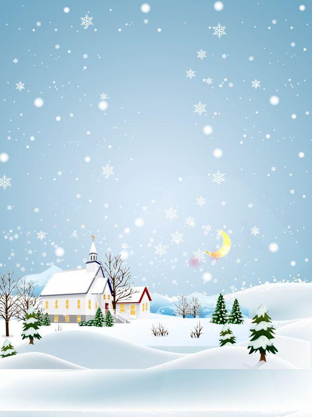 Cartoon Solstice Solar Snow Background Cute Christmas Wallpaper Christmas Wallpaper Simple Background Images Best of snowy christmas wallpaper for