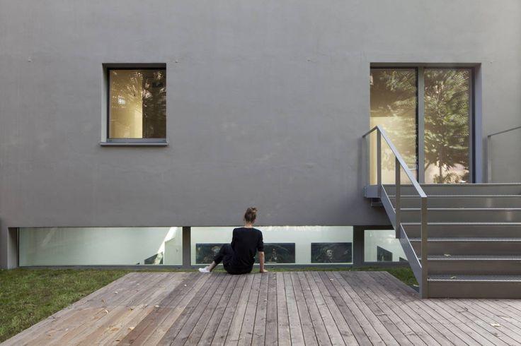Garten : Minimalistische Häuser von BCO Architekten