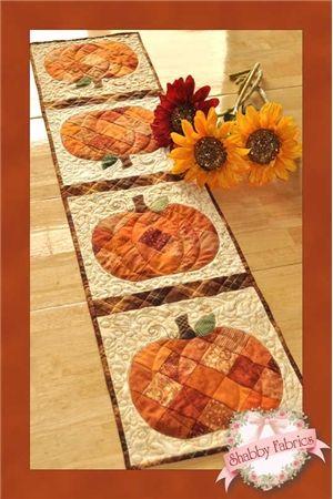 Pattern: Patchwork Pumpkin Table Runner