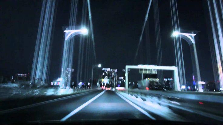 (HD) Night drive in Tokyo 01 -夜の首都高 湾岸線→台場線→C1→渋谷線-