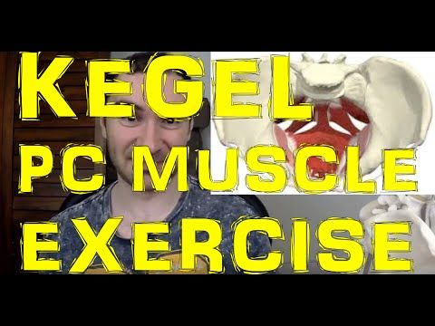 HOW To Do PC Muscle Exercises Or Kegel Exercises For Men & Women