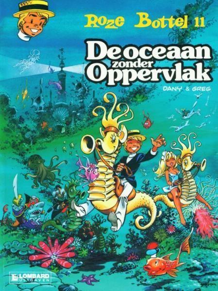 Roze Bottel 11 De oceaan zonder oppervlak - stripinfo.be