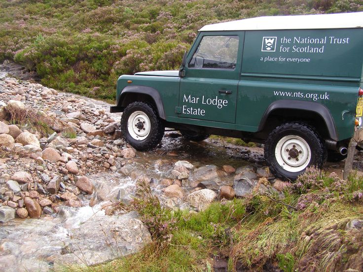 Many paths and footpaths have been badly damaged by storms and flooding at Mar Lodge Estate, Scotland #NTSAppeal