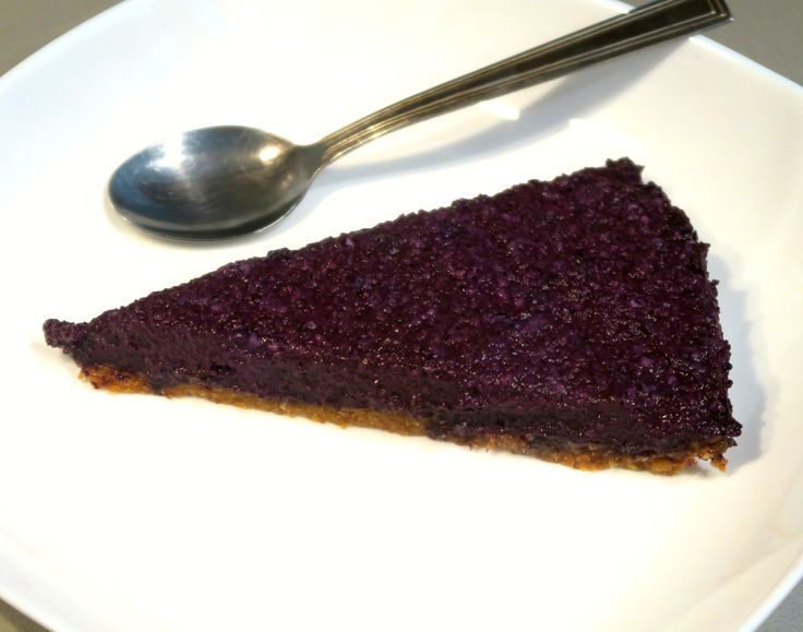 Borůvkový cheesecake /Blueberry cheesecake