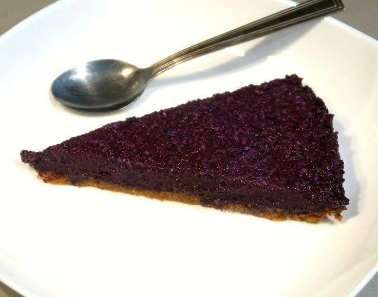 Borůvkový cheesecake /Blueberry cheesecake