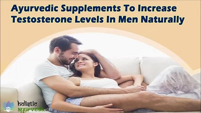 You can find more details about ayurvedic supplements to increase testosterone levels at http://www.holisticayurveda.in/product/herbal-testosterone-booster-supplements/  Dear friend, in this video we are going to discuss about ayurvedic supplements to increase testosterone levels. Musli kaunch Shakti capsules are powerful ayurvedic supplements to increase testosterone levels in men.