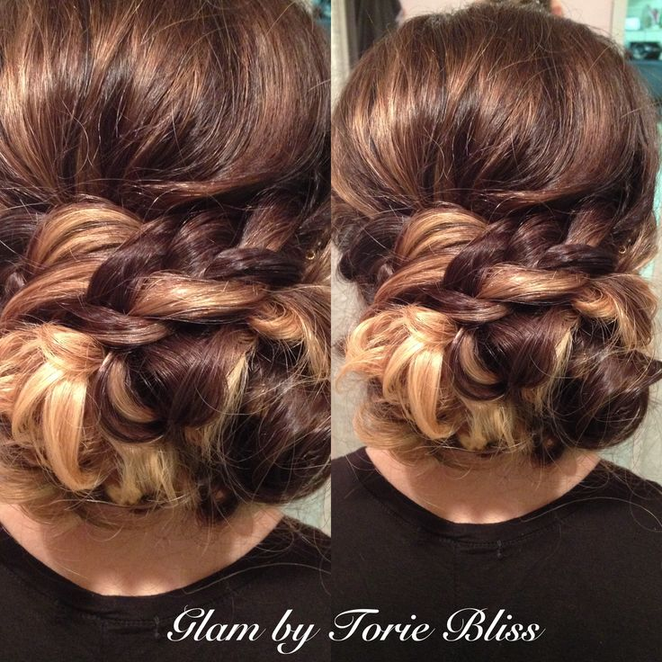 Bridal Trial From Today Bohemian Braided Updo